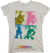 STICKY & SWEET TOUR - OFFICIAL LADIES  MONTAGE  T-SHIRT